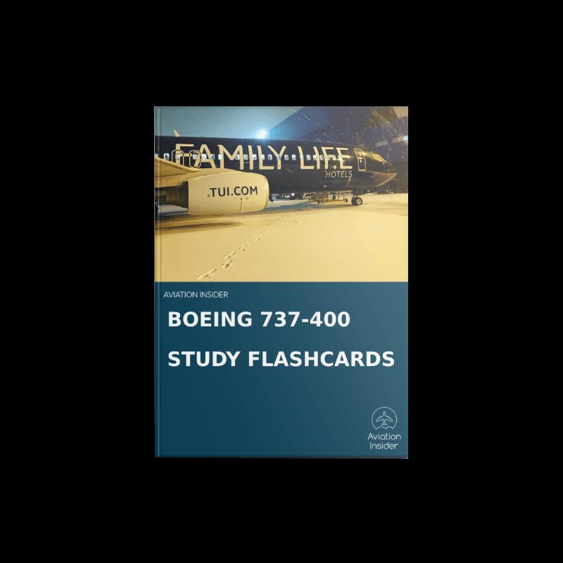 737-400 Study Flashcards