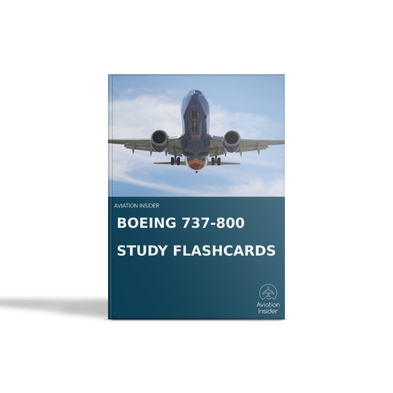 737-800 Study Flashcards