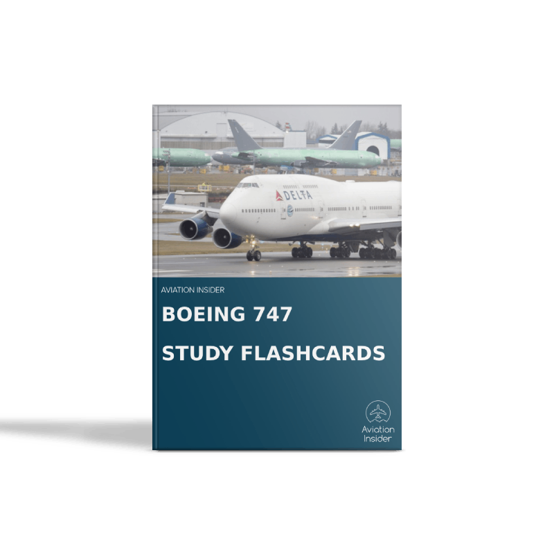747 Study Flashcards