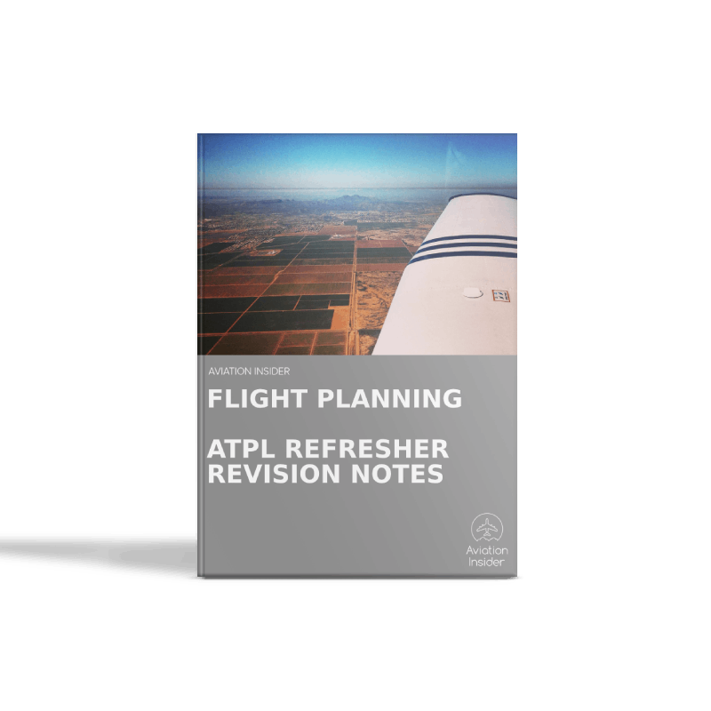 Flight Planning - Refresher Revision Notes