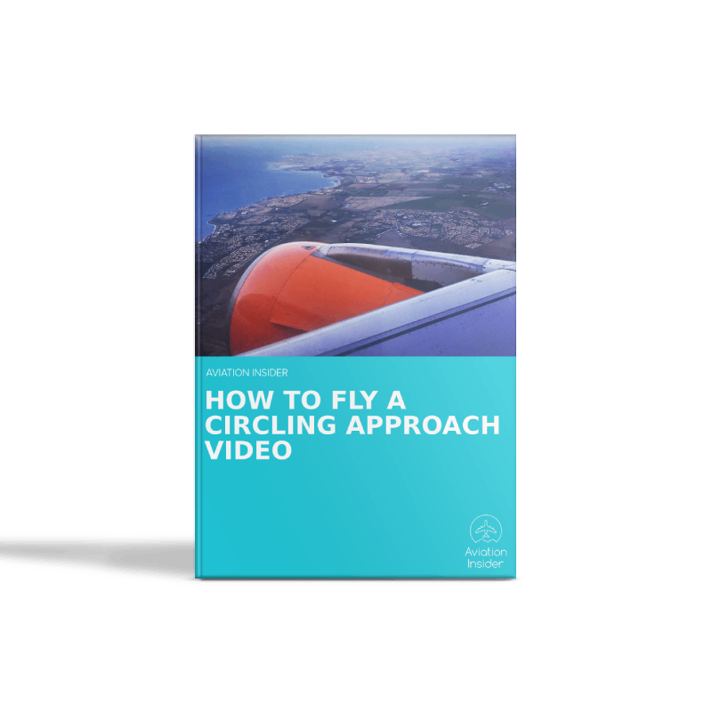 How to fly a Circling approach video