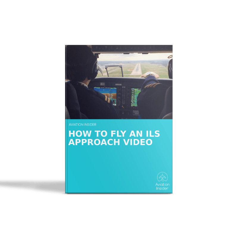 How to fly an ILS approach video