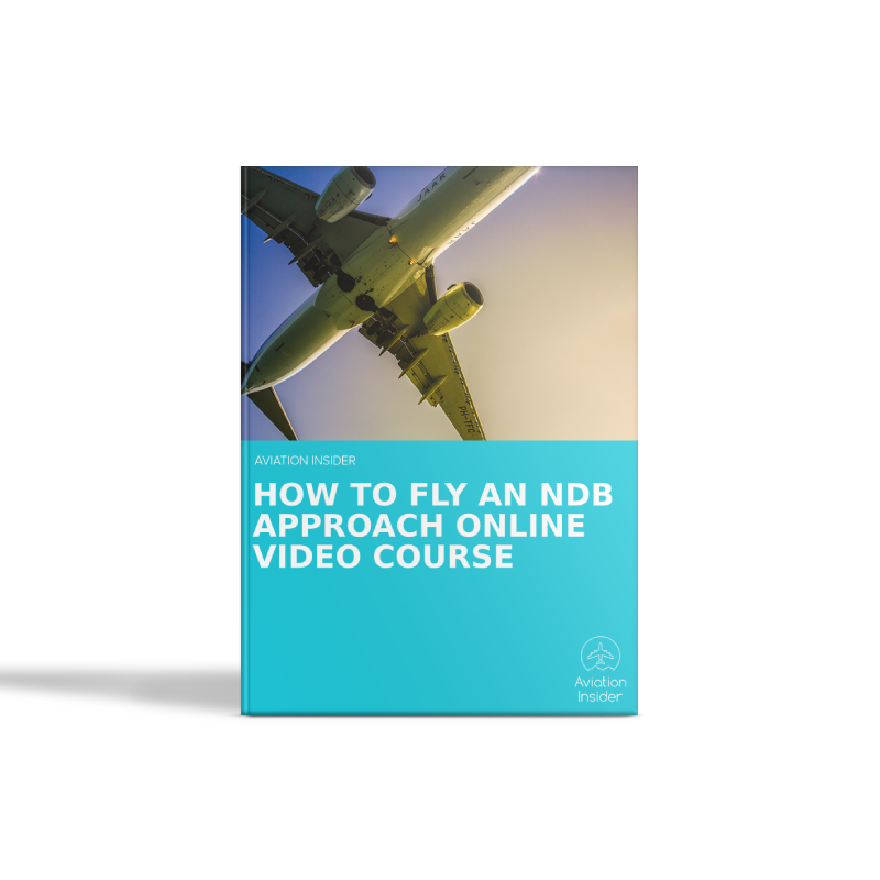 How to fly an NDB approach video