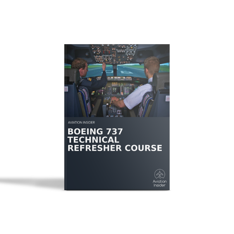 Boeing 737 Technical Refresher Course (One to one)