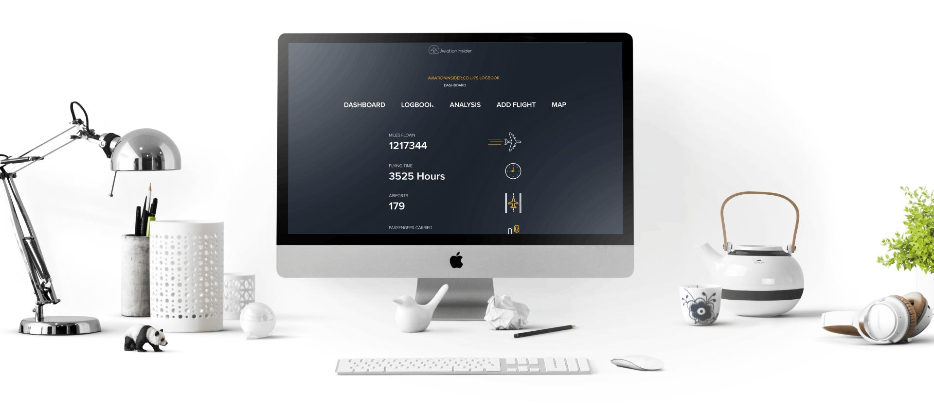 Aviation insider free online pilot logbook desktop