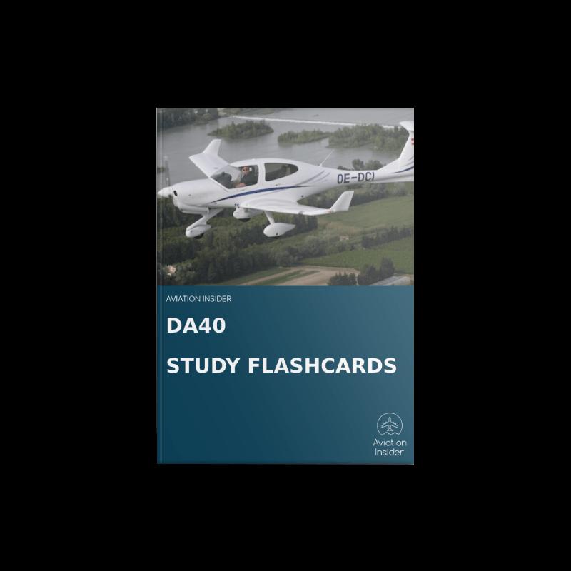 DA40 TDI Study Flashcards