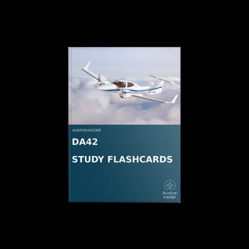 DA42 TDI Study Flashcards